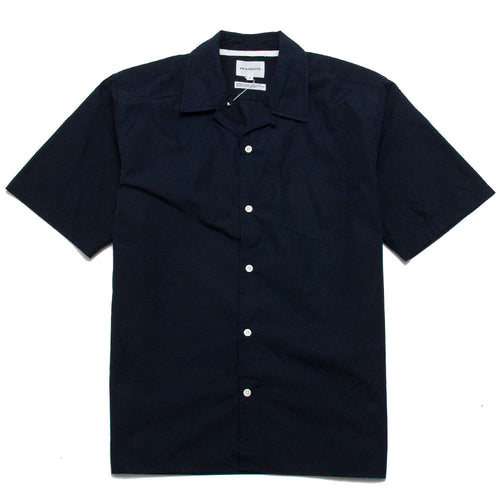 Norse Projects Carsten Poplin Dark Navy shoplostfound 1