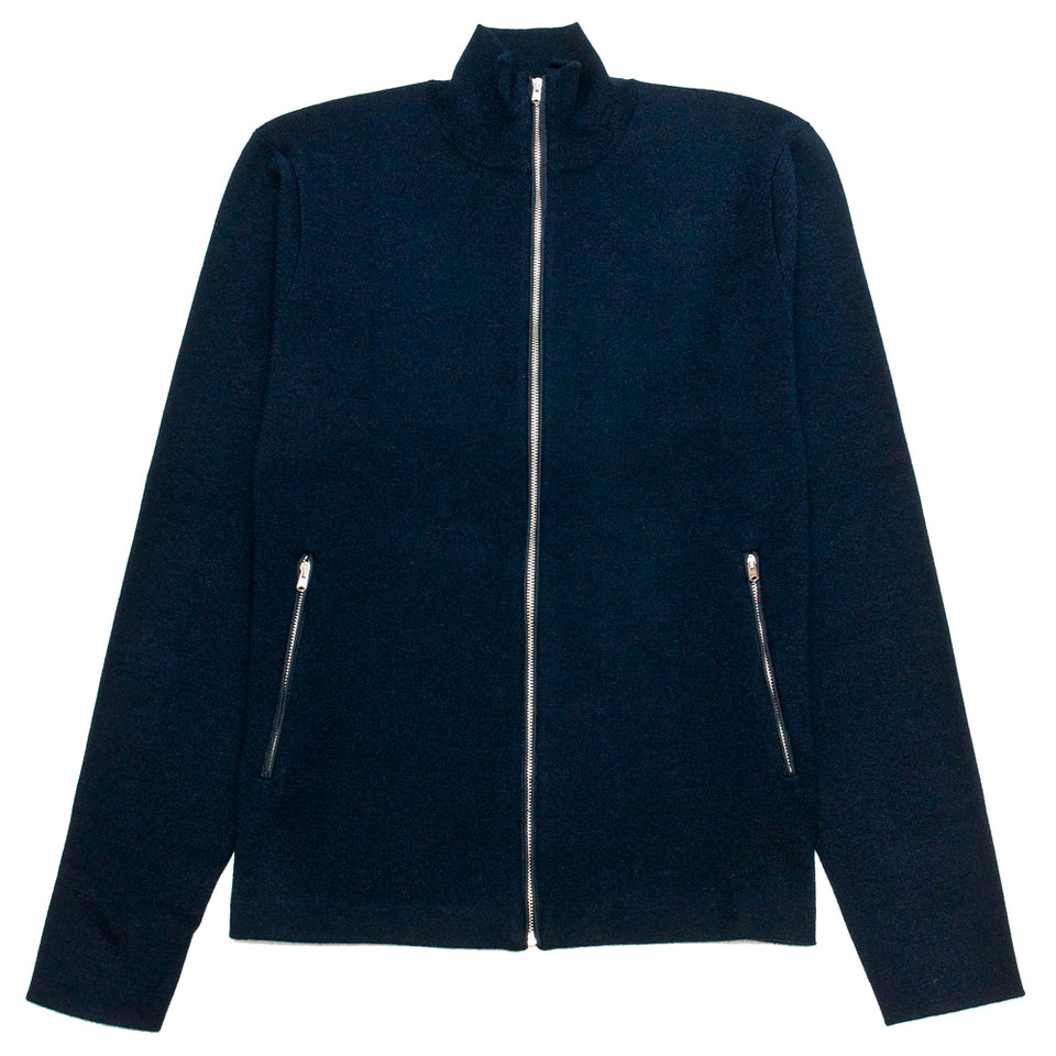 Norse Projects Fjord Tech Cardigan Dark Navy
