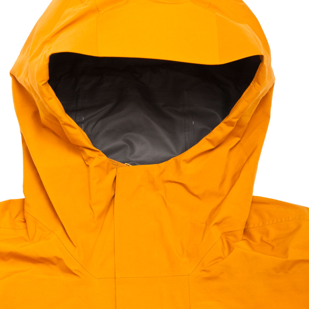 Norse Projects Fyn Shell Gore Tex 2.0 Cadmium Orange shoplostfound 3