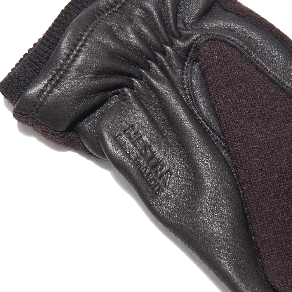 Norse Projects Hestra Svante Tobacco Gloves at shoplostfound, back