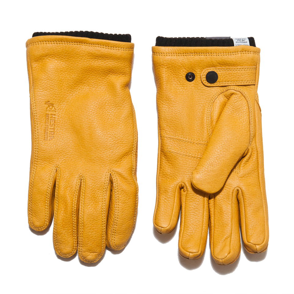 Norse Projects Hestra Utsjo Rapeseed Gloves at shoplostfound