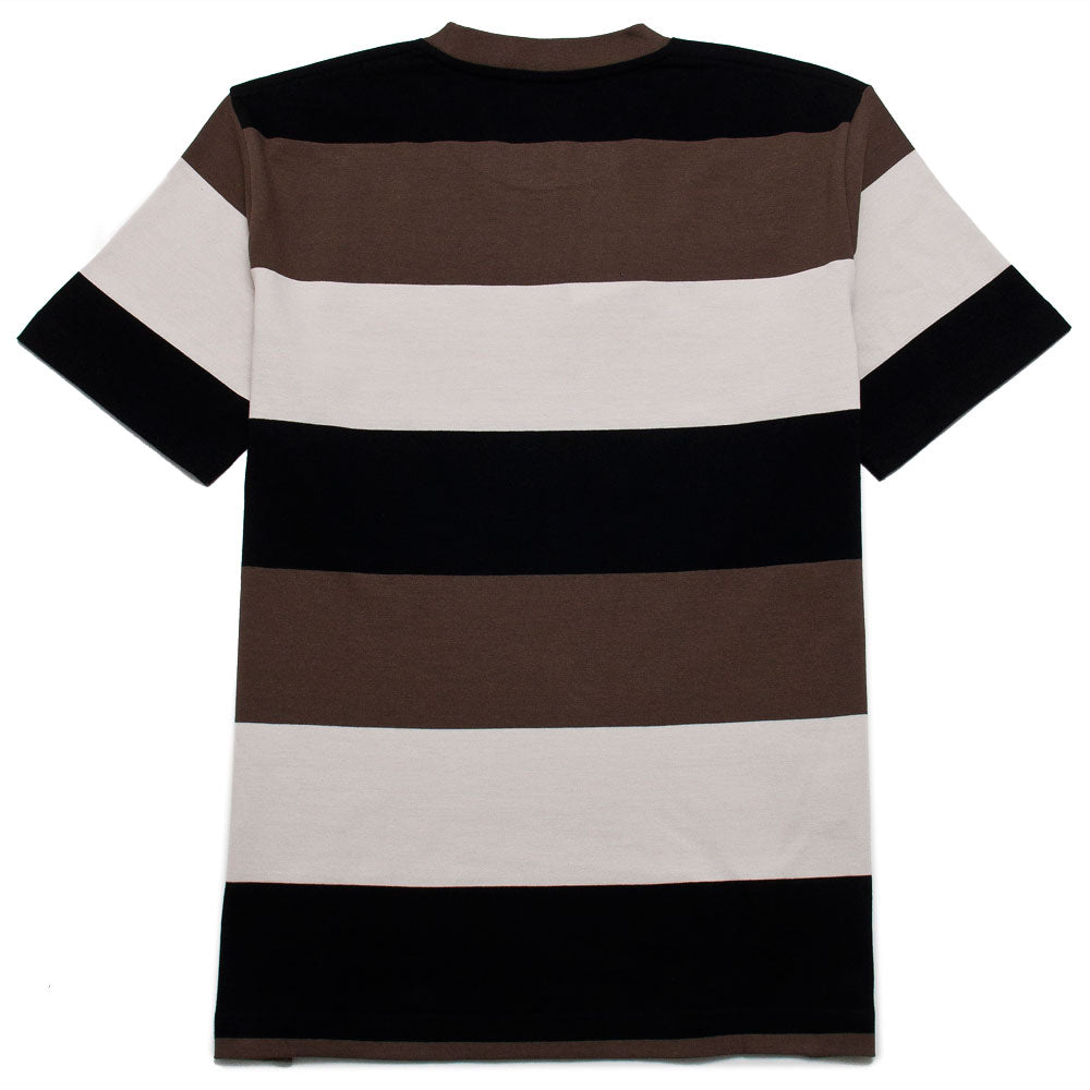 Norse Projects Johannes Border Stripe Taupe shoplostfound 2