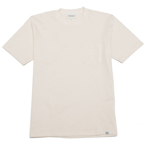 Norse Projects Johannes Pocket SS Ecru shoplostfound 1