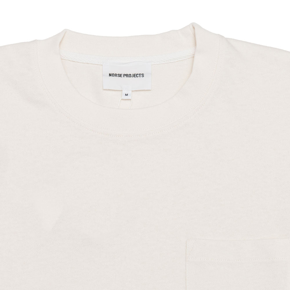 Norse Projects Johannes Pocket SS Ecru shoplostfound 2