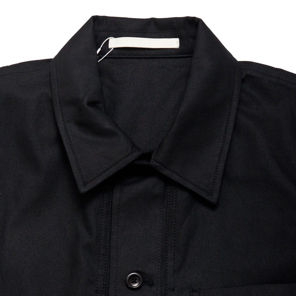 Norse Projects Kyle Cotton Linen Black shoplostfound 3