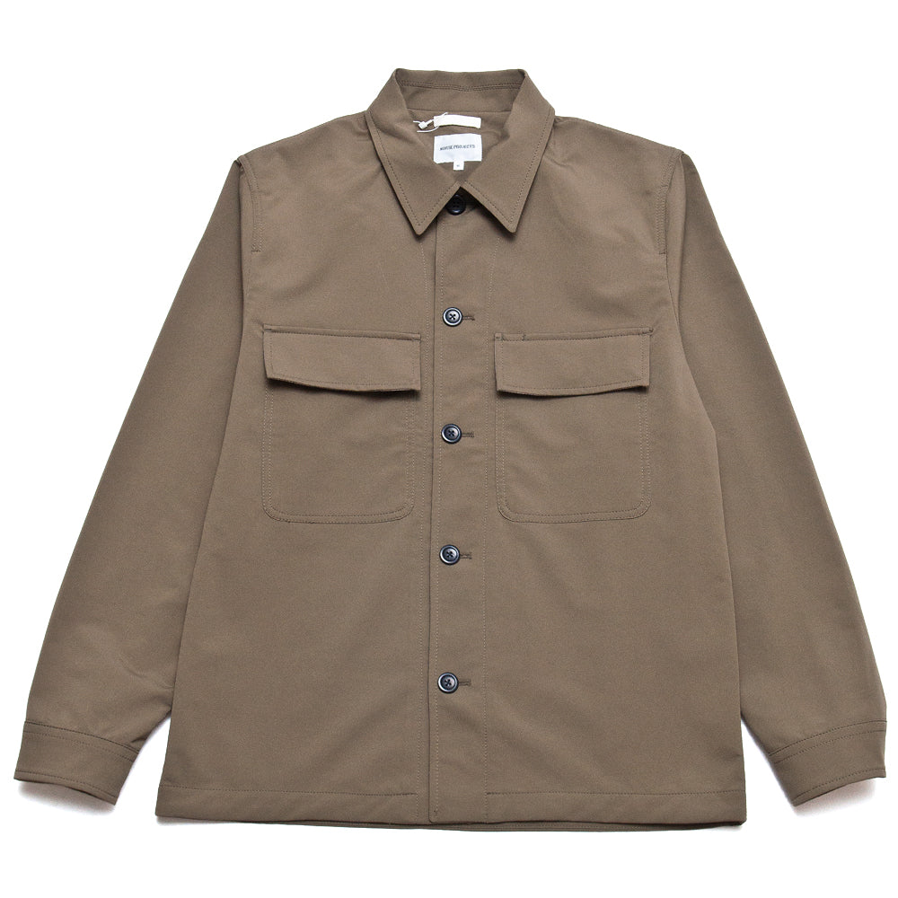Norse Projects Kyle Travel Utility Khaki at shoplostfound, front