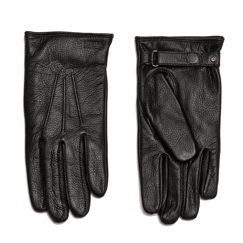 Norse Projects x Hestra Salen Gloves Black at shoplostfound, front