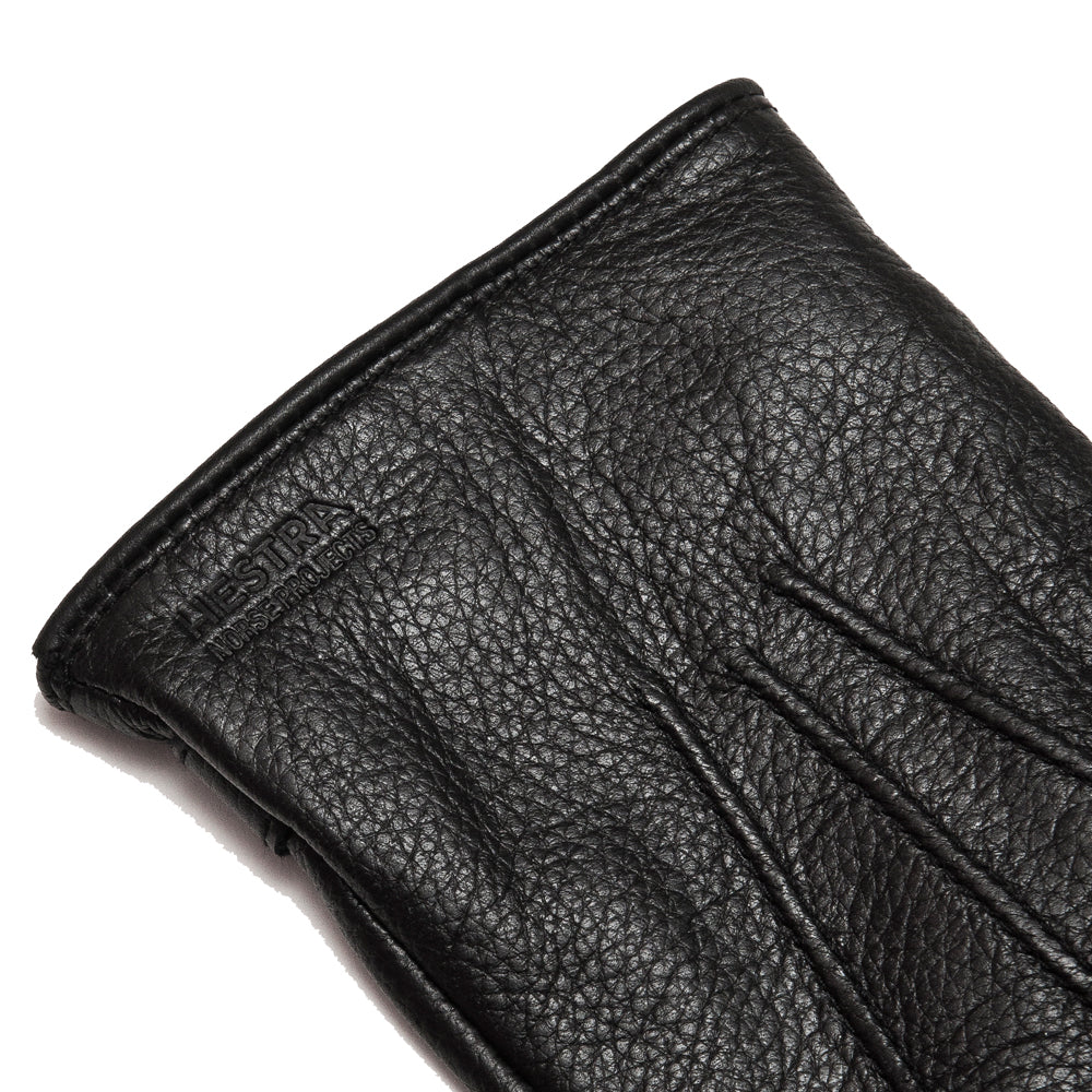Norse Projects x Hestra Salen Gloves Black at shoplostfound, detail