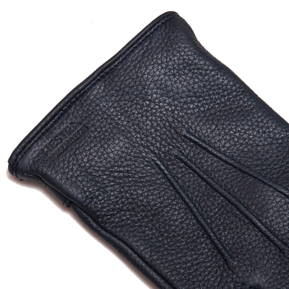 Norse Projects x Hestra Salen Gloves Dark Navy at shoplostfound, detail