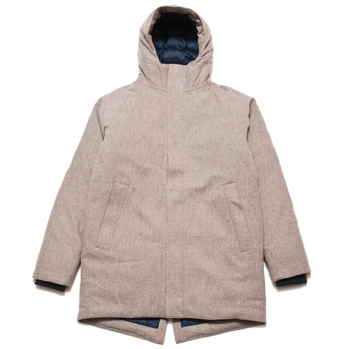 Norse Projects Rokkvi 4.0 Waterproof Wool Utility Khaki at shoplostfound, front