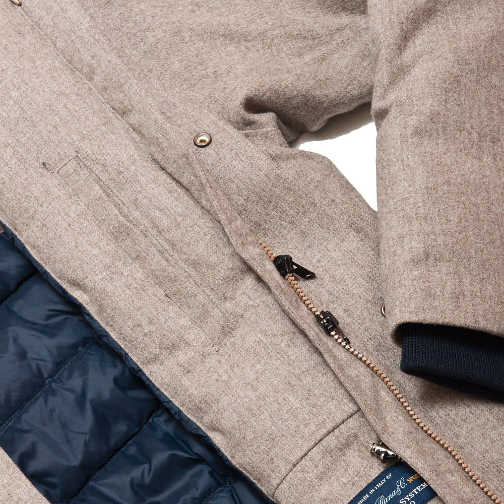 Norse Projects Rokkvi 4.0 Waterproof Wool Utility Khaki at shoplostfound, pocket