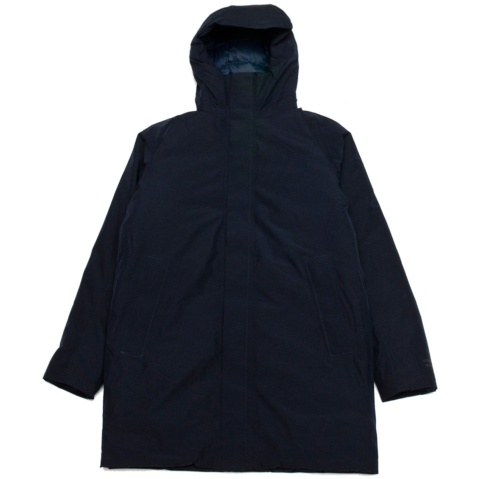 Norse Projects Rokkvi 5.0 Gore Tex Dark Navy at shoplostfound, front