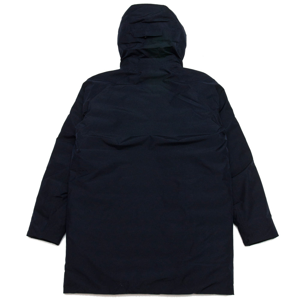 Norse Projects Rokkvi 5.0 Gore Tex Dark Navy at shoplostfound, back