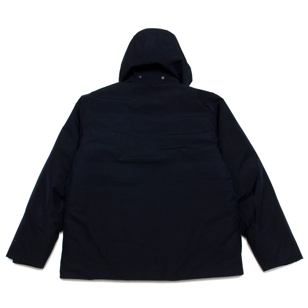 Norse Projects Ystad Down Gore Tex Dark Navy at shoplostfound, back