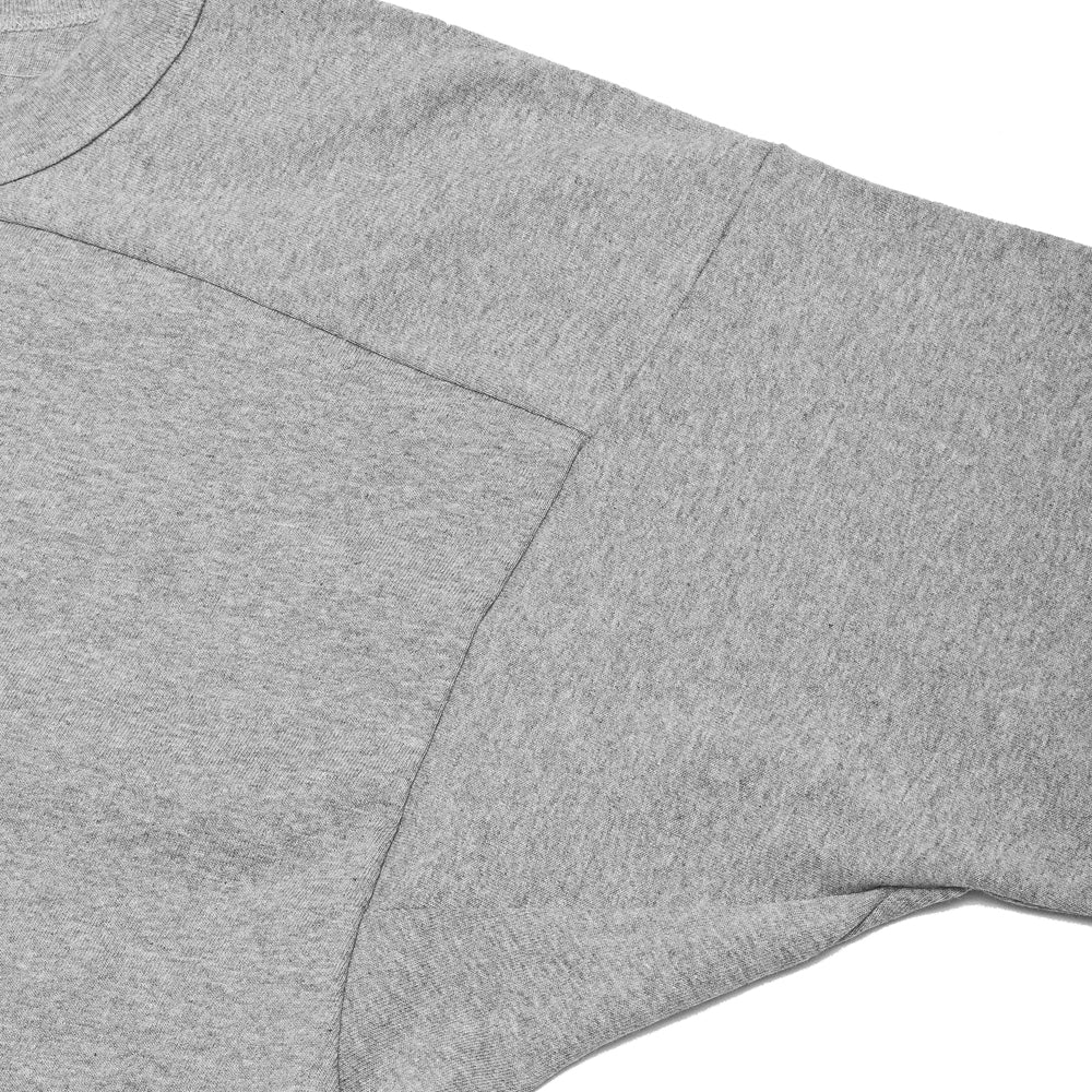 PAA Long Sleeve Football Tee Heather Grey at shoplostfound, arm