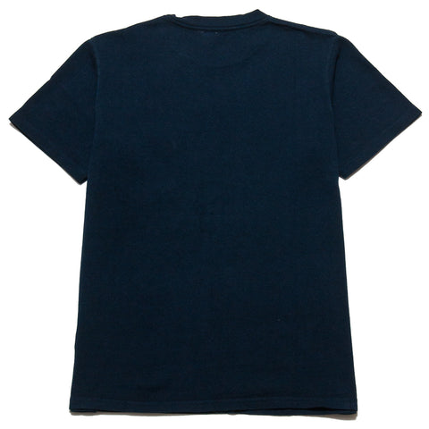 PAA SS Pocket Tee Navy at shoplostfound, front