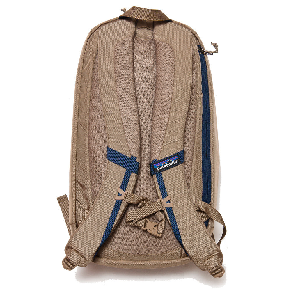 Patagonia Atom Backpack 18L Mojave Khaki at shoplostfound, back