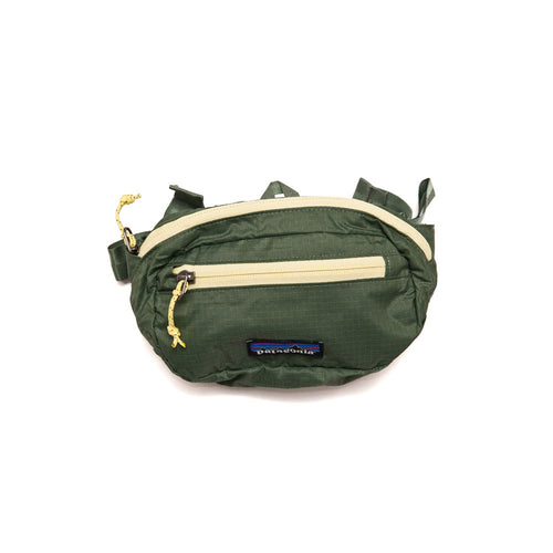 Patagonia Ultralight Black Hole Mini Hip Pack 1L Camp Green shoplostfound 1