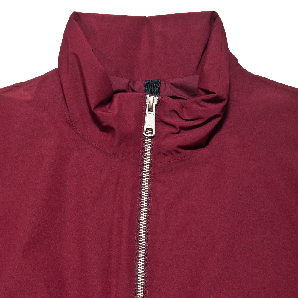 Peak Performance Blizzard Jacket Baked Red at shoplostfound, neck