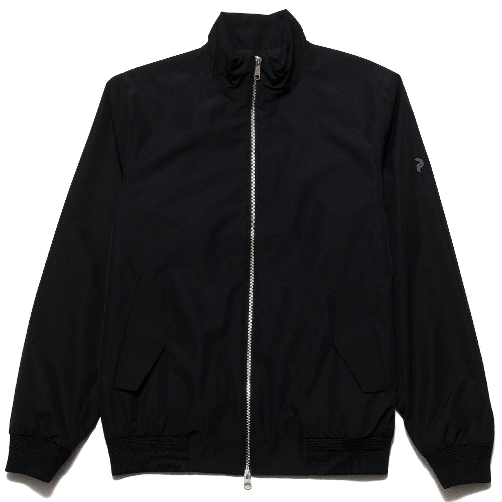 Peak Performance Blizzard Jacket Black at shoplostfound, front