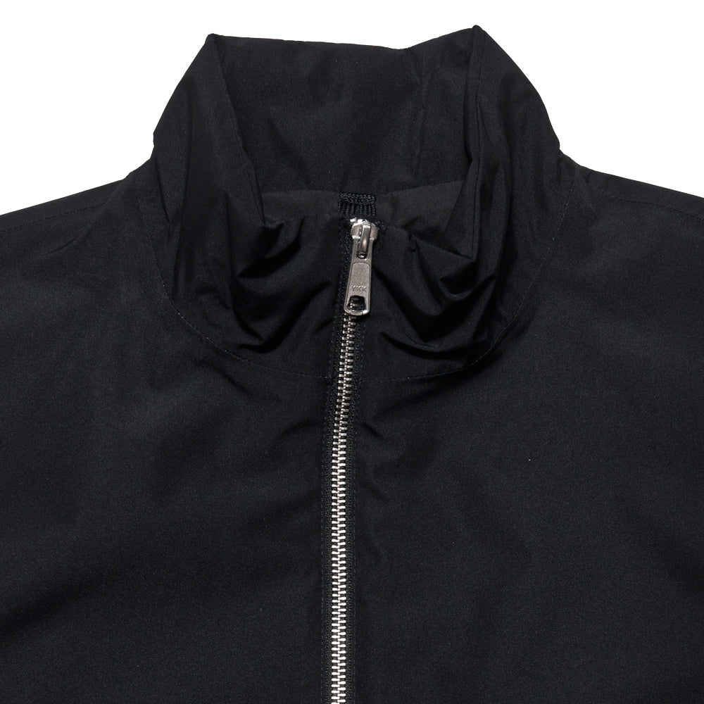 Peak Performance Blizzard Jacket Black at shoplostfound, neck
