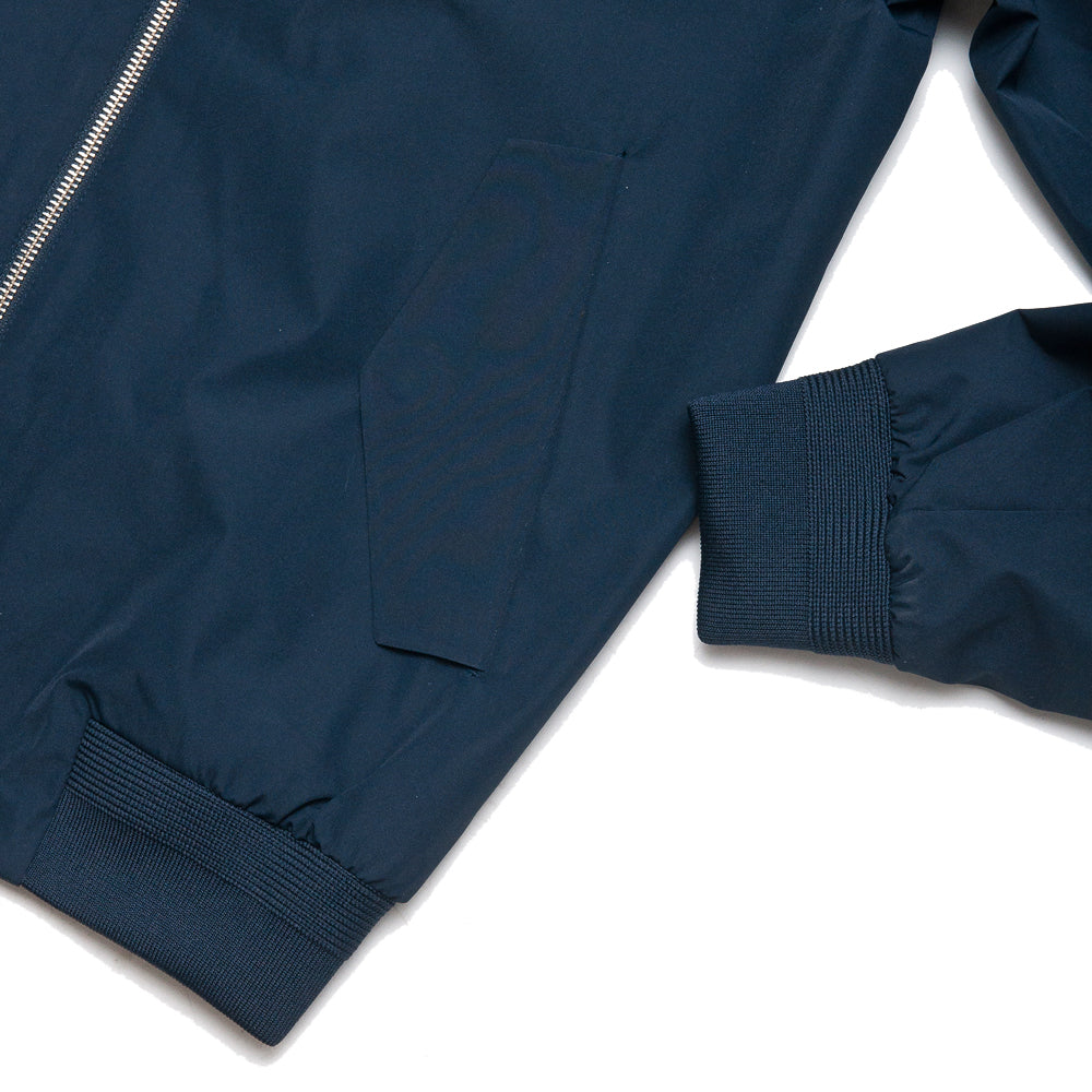 Peak Performance Blizzard Jacket Navy at shoplostfound, cuff
