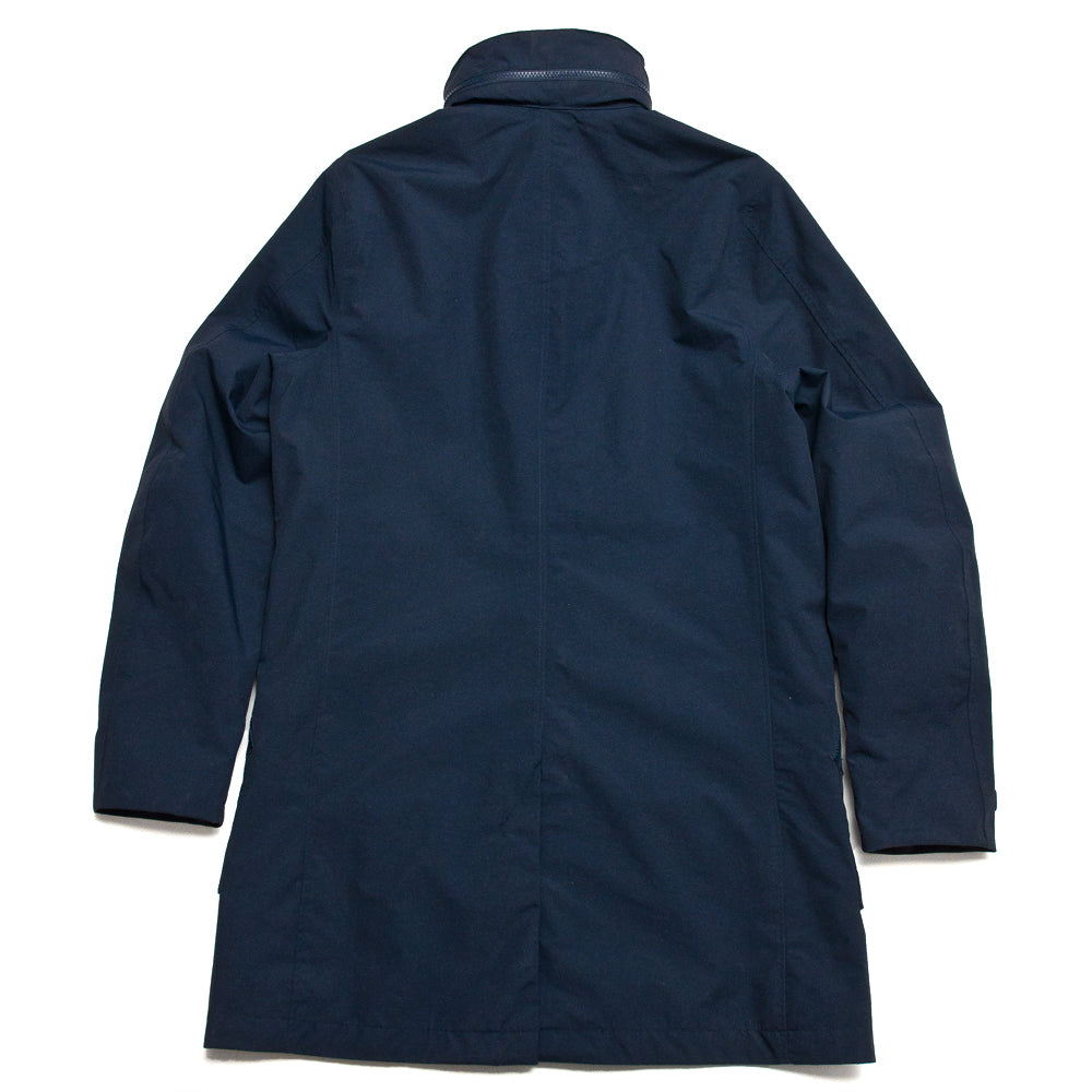 Peak Performance Tech Water Repellent Coat Blue Shadow at shoplostfound, back