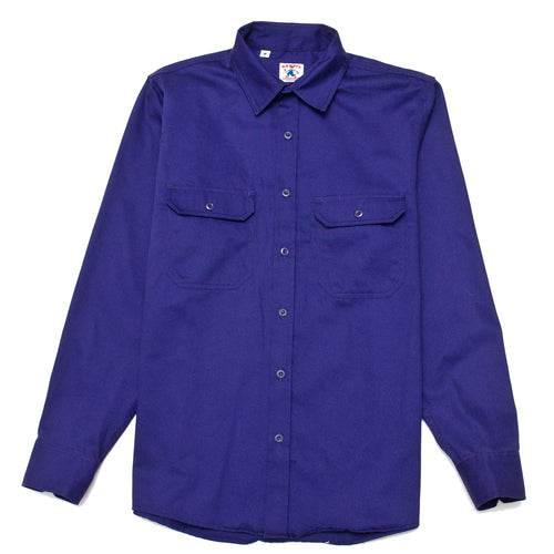 Randy's Garments Inspector Shirt Purple shoplostfound front