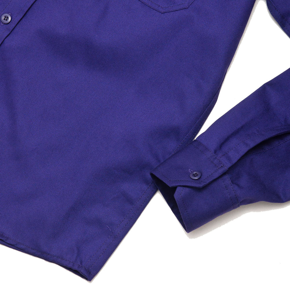 Randy's Garments Inspector Shirt Purple shoplostfound cuff