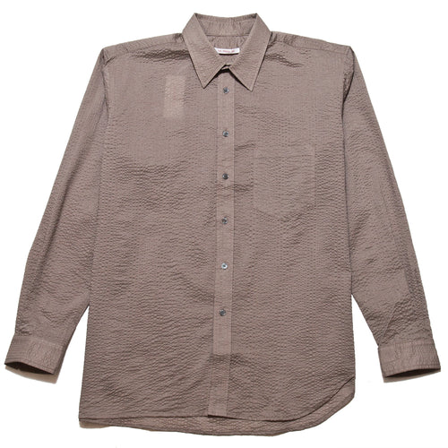 S.K. Manor Hill Egon Shirt Grey Lawn at shoplostfound, front