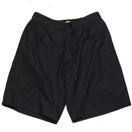 S.K. Manor Hill Sahar Short Black at shoplostfound, front