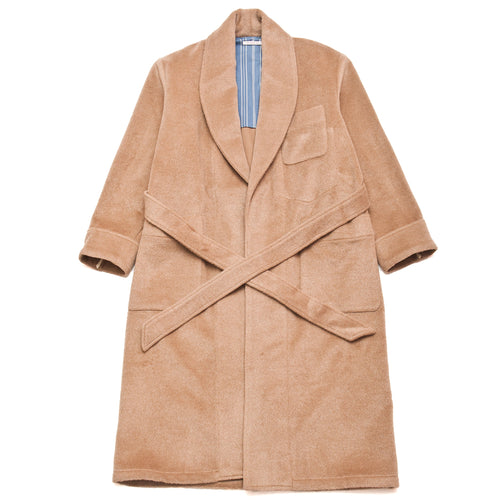 S.K. Manor Hill Wallace Robe Camel at shoplostfound, front