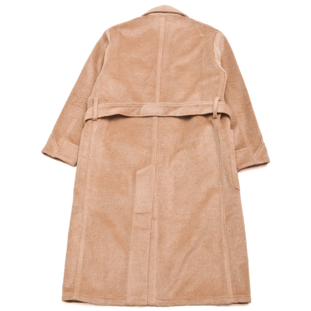S.K. Manor Hill Wallace Robe Camel at shoplostfound, back