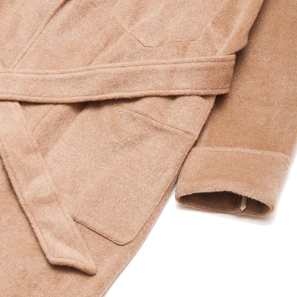 S.K. Manor Hill Wallace Robe Camel at shoplostfound, cuff