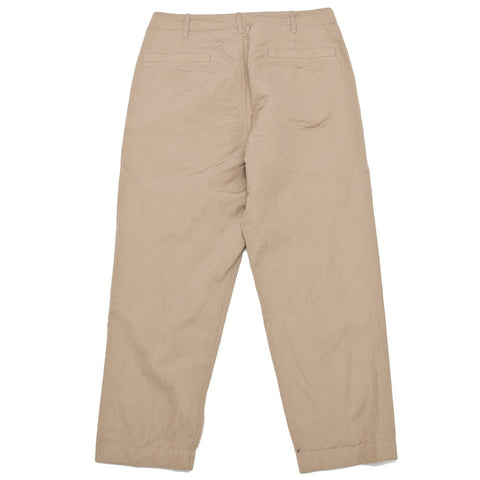 Sage de Cret 9/10 Length Peg Top Pants Beige shoplostfound 1