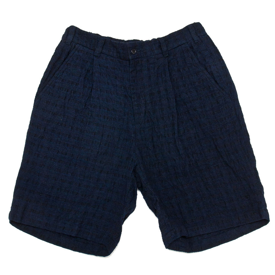 Sage de Cret One Tack Wide Short Pants Navy shoplostfound 1