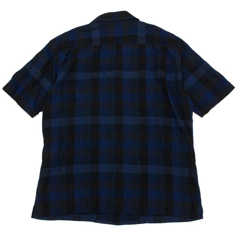 Sage de Cret Short Sleeve Shirt Navy shoplostfound 1