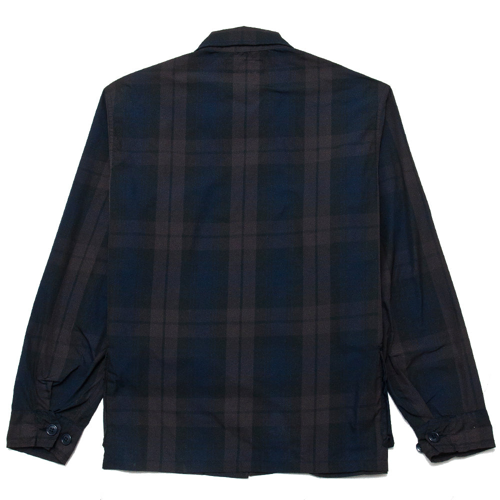 Sassafras G.D.U. Jacket Check Memory Twill at shoplostfound, back