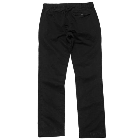 Save Khaki United Classic Twill Trouser Black at shoplostfound, front