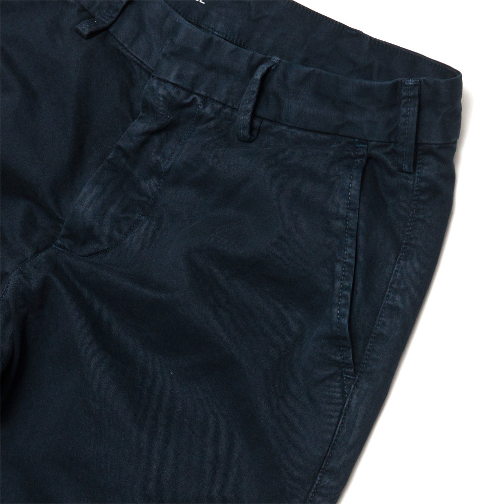 Save Khaki United Classic Twill Trouser Navy at shoplostfound, pocket