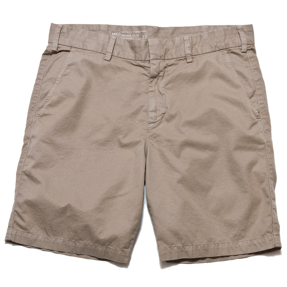 Save Khaki United Light Twill Bermuda Short Khaki at shoplostfound, front