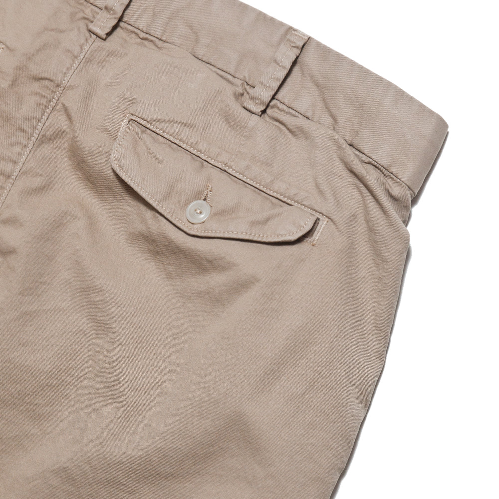Save Khaki United Light Twill Bermuda Short Khaki at shoplostfound, detail