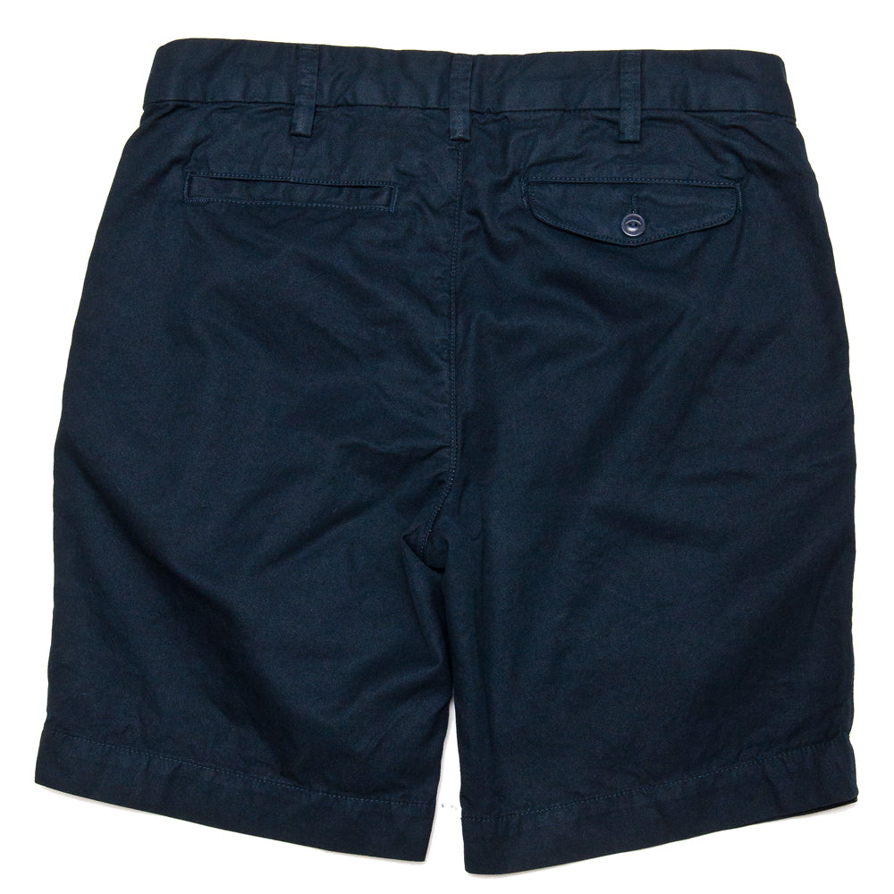 Save Khaki United Light Twill Bermuda Short Navy at shoplostfound, back