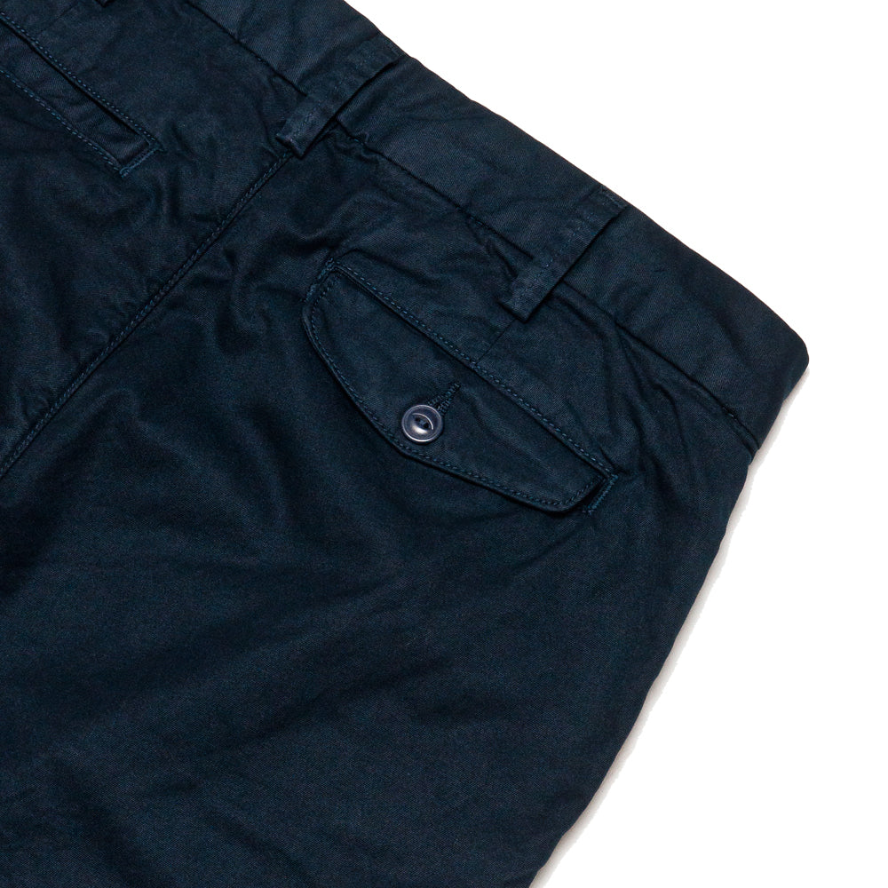 Save Khaki United Light Twill Bermuda Short Navy at shoplostfound, detail