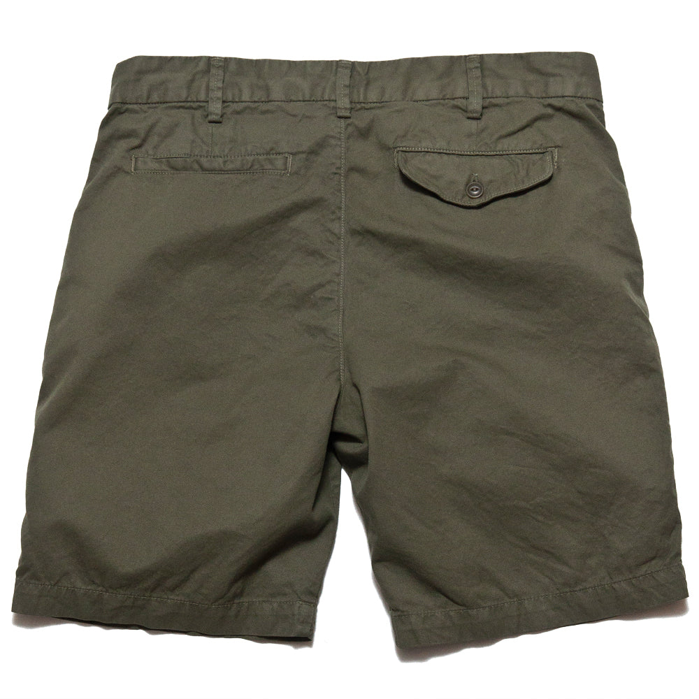 Save Khaki United Light Twill Bermuda Short Olive Drab AT SHOPLOSTFOUND, back