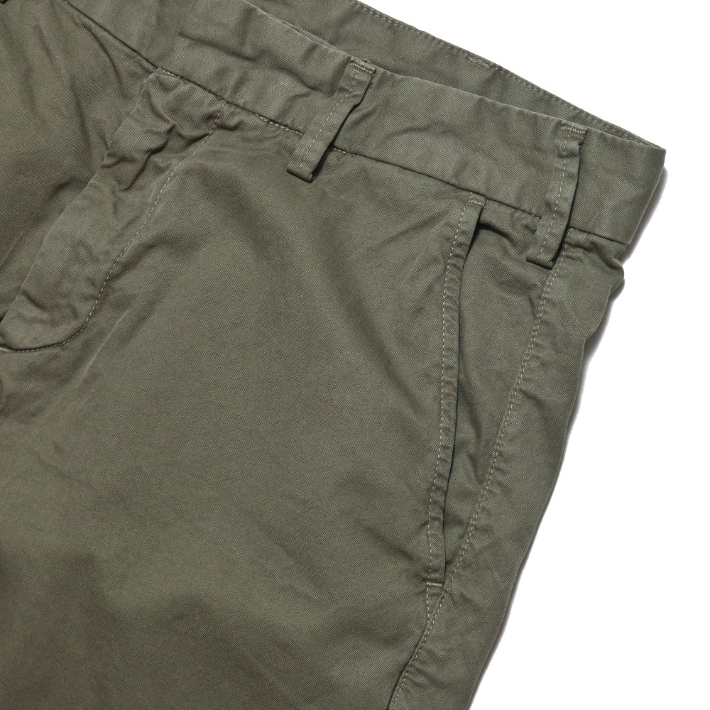 Save Khaki United Light Twill Bermuda Short Olive Drab AT SHOPLOSTFOUND, pocket