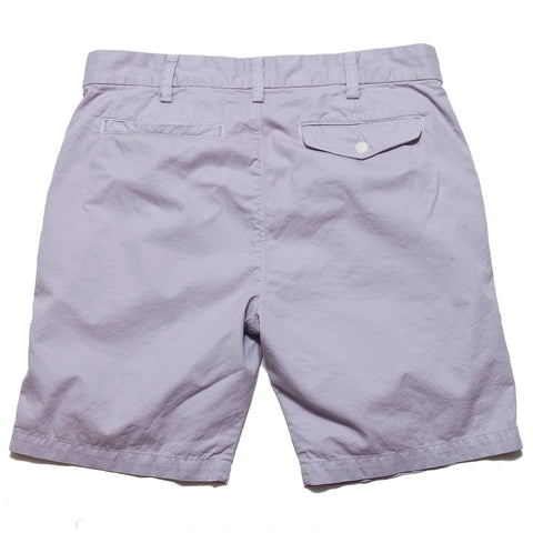 Save Khaki United Light Twill Bermuda Short Violet AT SHOPLOSTFOUND, front