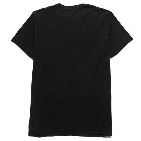Save Khaki United S/S Supima Pocket Tee Black at shoplostfound, front