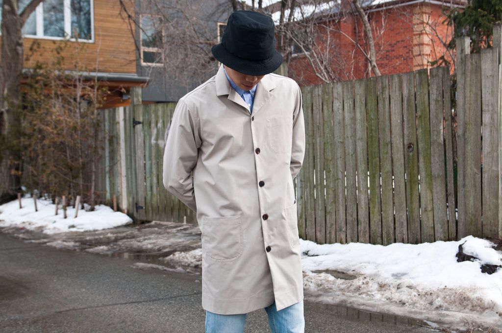 Schnayderman's Coatshirt Trench One Stone at shoplostfound, Justin