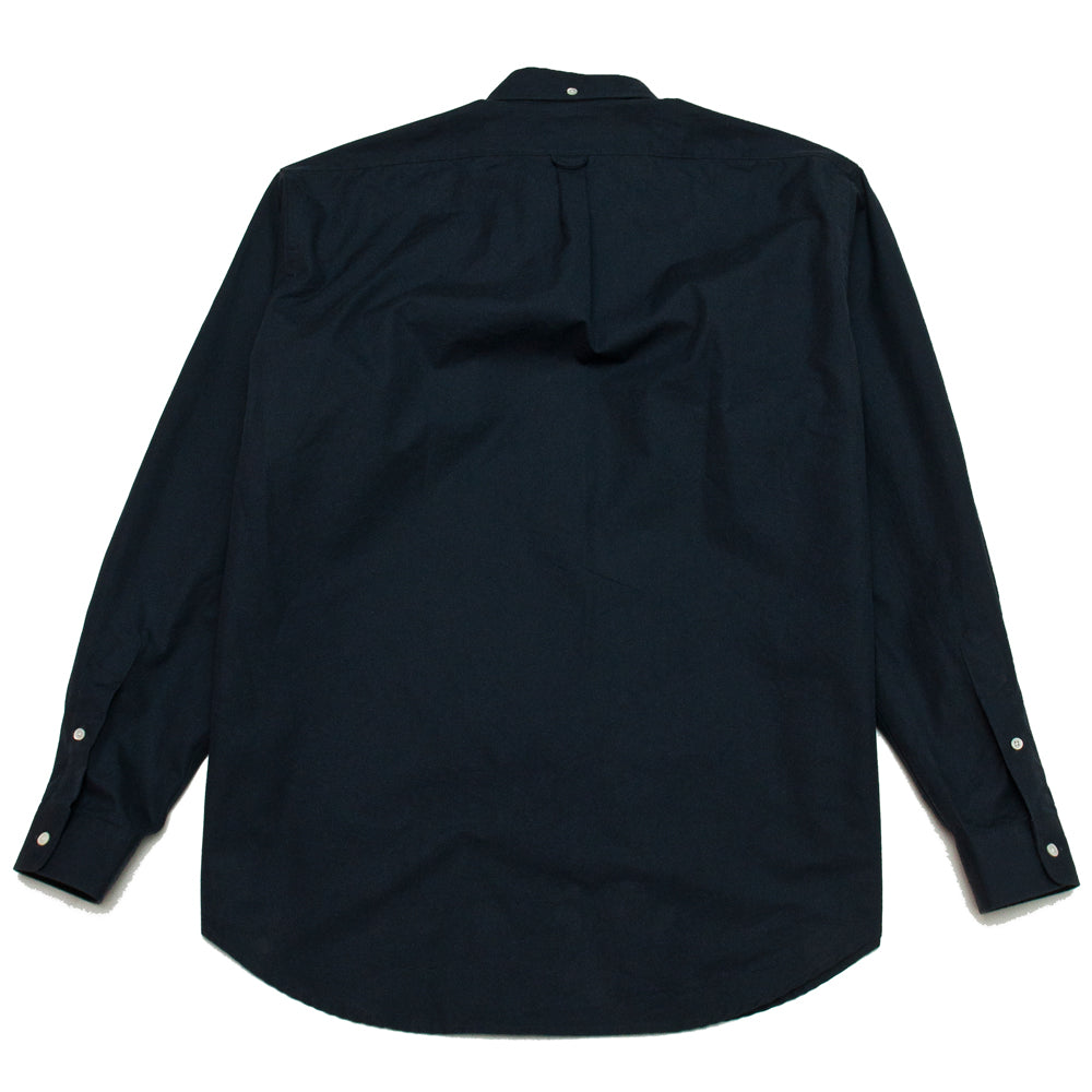 Schnayderman's Shirt Oversized Trench Dark Navy at shoplostfound, back